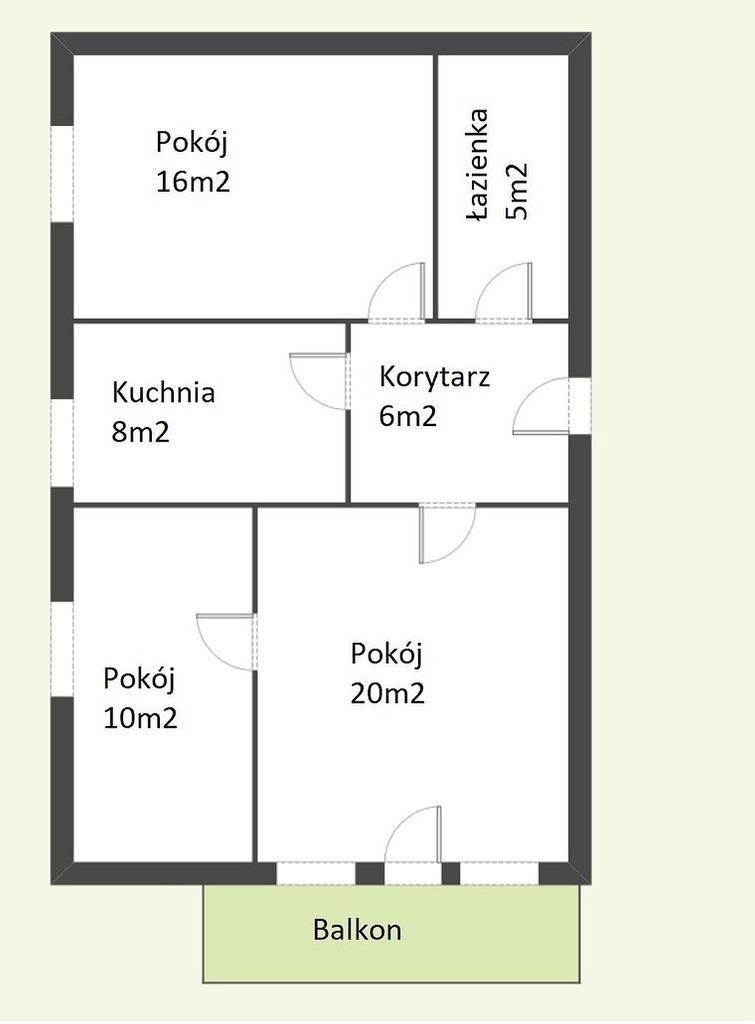 Poznań//Jana Henryka Dąbrowskiego - Mieszkanie na sprzedaż
